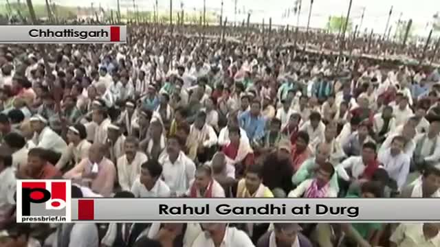 Rahul Gandhi: Congress is committed to ensure rights of the poor