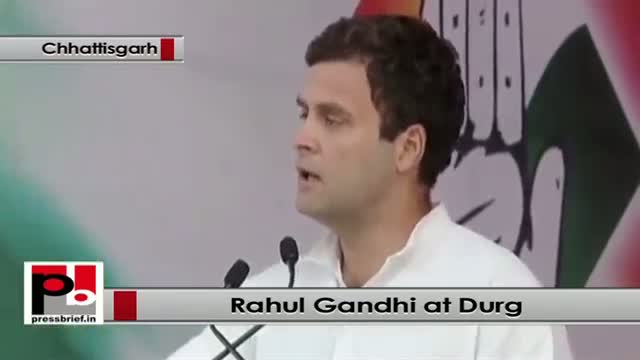 Rahul Gandhi's dream - Shelter, health and welfare to all citizens
