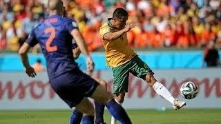 Australia vs Netherlands 2-3 All Goals and Full Highlights - FIFA WORLD CUP 2014