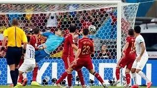 Spain vs Chile 2014 (0-2) - All Goals Highlights - FIFA World Cup 2014
