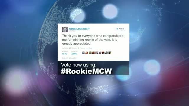 2014 NBA Social Media Awards Social Rookie Award Nominee: Michael Carter Williams