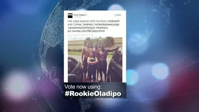 2014 NBA Social Media Awards Social Rookie Award Nominee: Victor Oladipo