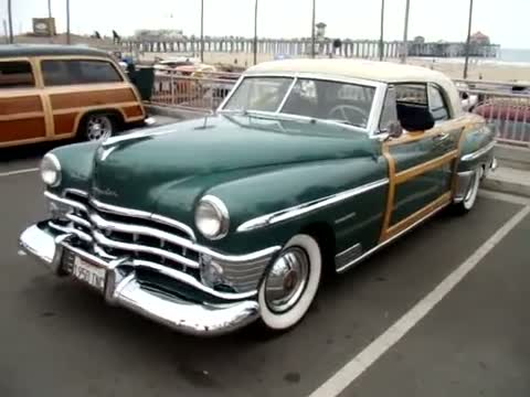 1950 Chrysler Town and Country Classic Car Woody - Huntington Beach Ca.