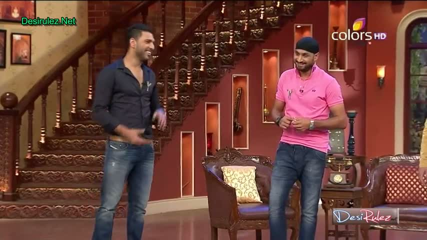 Comedy Nights with Kapil - Yuvraj Singh and Harbhajan Singh - 21st June 2014 - Part 1/4
