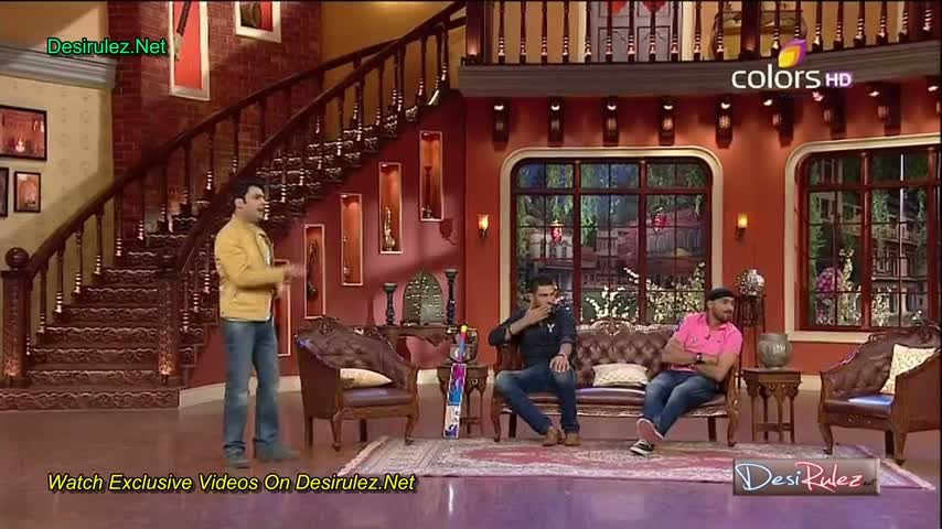 Comedy Nights with Kapil - Yuvraj Singh and Harbhajan Singh - 21st June 2014 - Part 2/4