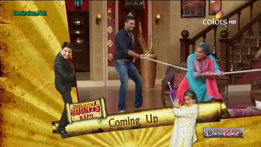 Comedy Nights with Kapil - Yuvraj Singh and Harbhajan Singh - 21st June 2014 - Part 3/4