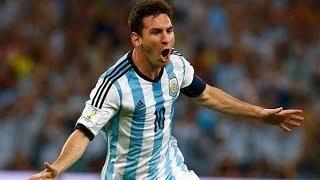 Lionel Messi fantastic late goal vs Iran - FIFA World Cup 2014 HD