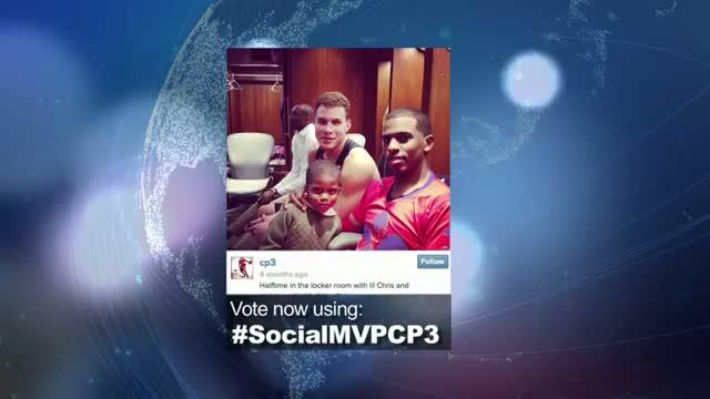 2014 NBA Social Media Awards Social MVP Nominees