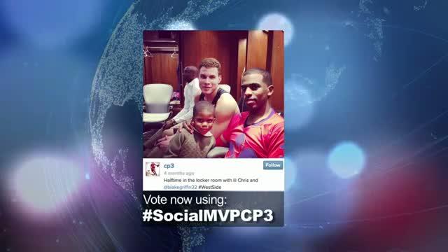 2014 NBA Social Media Awards MVP Nominee: Chris Paul