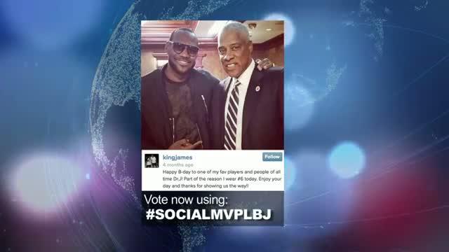 2014 NBA Social Media Awards MVP Nominee: LeBron James