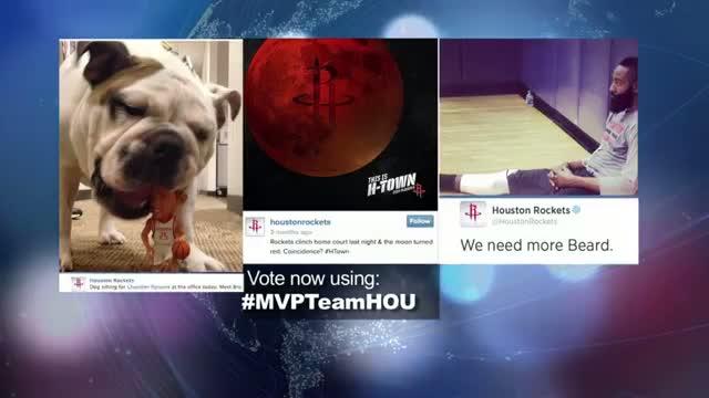 2014 NBA Social Media Awards Team Social MVP Nominee: Houston Rockets