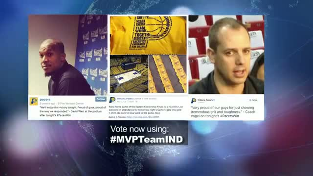 2014 NBA Social Media Awards Team Social MVP Nominee: Indiana Pacers