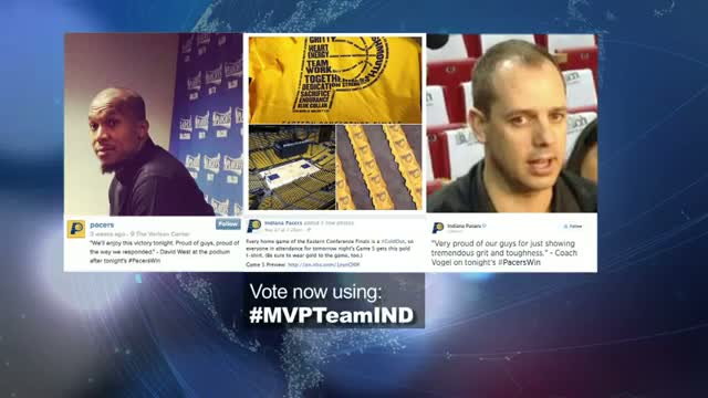 2014 NBA Social Media Awards Team Social MVP Nominees