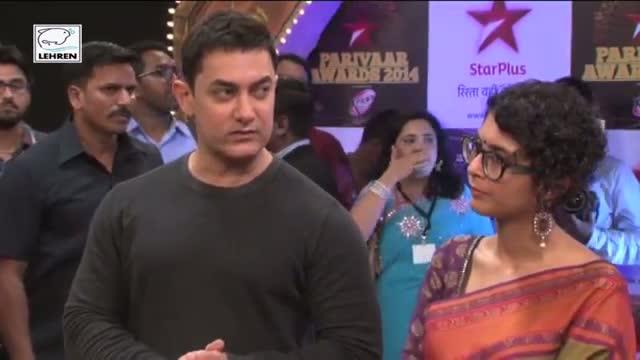 OMG! Aamir Khan Breaks His Vow, Attends Star Parivar Awards