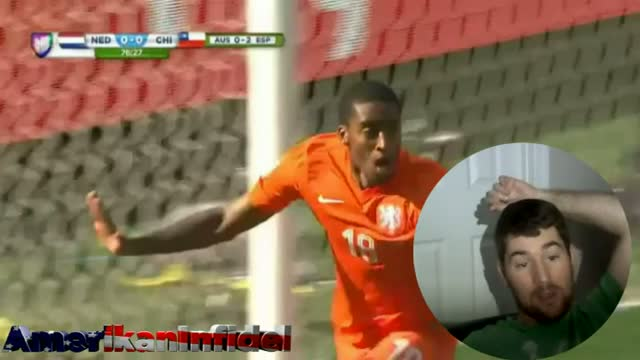 Leroy Fer GOAL - Netherlands up 1 - 0 vs Chile - 2014 Fifa World Cup Brazil GOAL