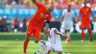 Netherlands vs Chile 2-0 HIGHLIGHTS - ALL GOALS - FIFA WORLD CUP 2014