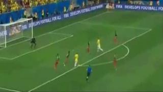 Neymar Fantastic Goal - Brasil 2-1 Cameroon Fifa World Cup 23.06.2014