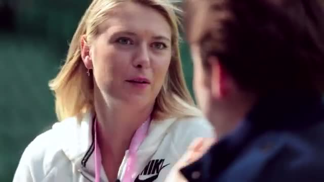 Ask Maria Sharapova...with Jonathan Ross