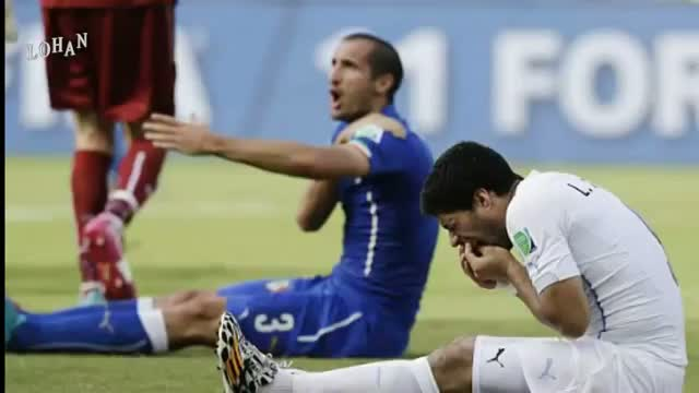 Luis Suarez in biting controversy during Uruguay World Cup game against Italy: FIFA World Cup 2014
