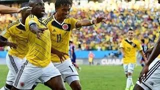 Japan Vs Colombia 2014 Fifa World Cup 1-4 First Half Match Highlights & Goals 25/06/14