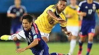 Japan Vs Colombia 2014 - FIFA World Cup 1-4 Full Match Highlights & Goals 25/06/14