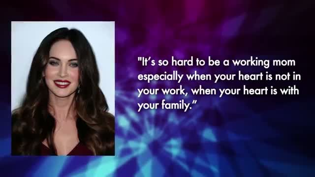 Megan Fox Reveals She is Over Acting