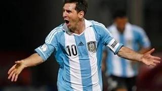 Lionel Messi Goal - Argentina vs Nigeria 2014 - FIFA World Cup 2014 HD