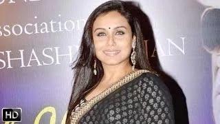 Rani Mukherjees One Woman Show