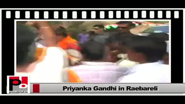 Priyanka Gandhi Vadra - an efficient, energetic and genuine mass leader
