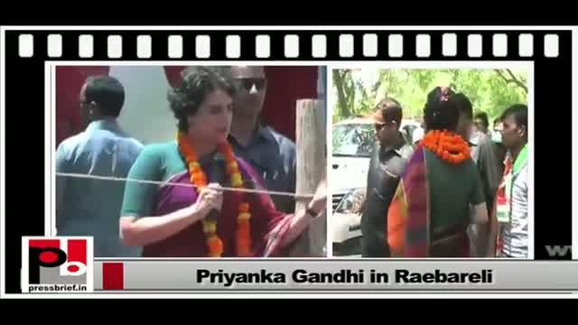 Priyanka Gandhi Vadra - charismatic campaigner with innovative ideas