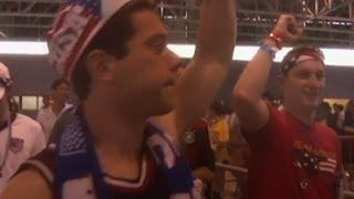 US World Cup Fans Arrive in Recife