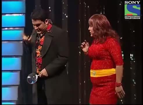 Kapil Sharma Ali Asgar - Comedy Act - CID Ki Nayi Team - CID Veerta Awards