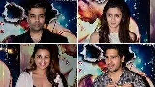 Ek Villain Special Screening -- Alia Bhatt, Karan Johar, Parineeti Chopra ATTEND