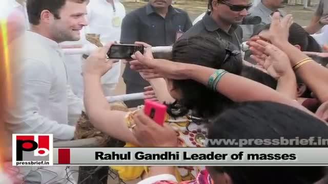 Rahul Gandhi has a clear forward looking vision and progressive agenda