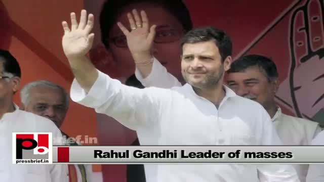 Rahul Gandhi - a leader who always intervened when people suffer