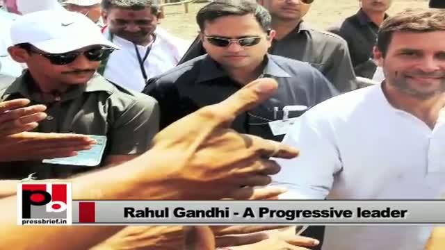 Whenever people suffer Rahul Gandhi intervenes