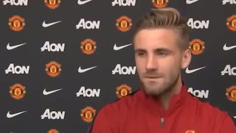 Luke Shaw First Interview at Manchester United
