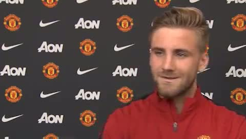 Luke Shaw - First Interview With Manchester United