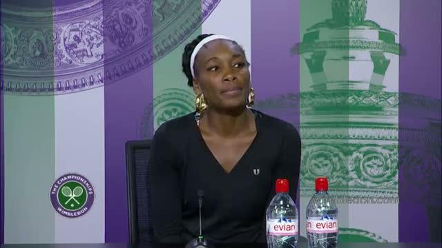 Venus Williams 'I did the best I could' - Wimbledon 2014