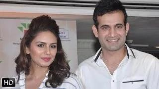 Irfan Pathan And Huma Quereshi At The Palm Oil Press Meet
