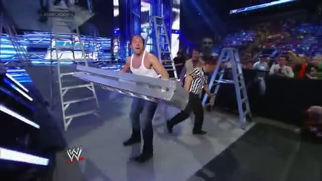 Dean Ambrose vs. Bad News Barrett: WWE SmackDown, June 27, 2014