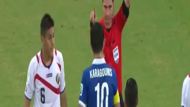 Costa Rica vs Greece 1-1 (pel 5-3 ) Full Highlights - FIFA World Cup 2014