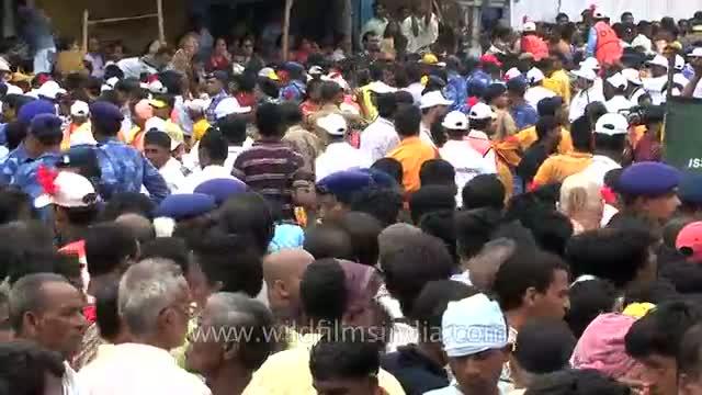 Lord Jagannath's Ratha Yatra held at Puri - Odisha
