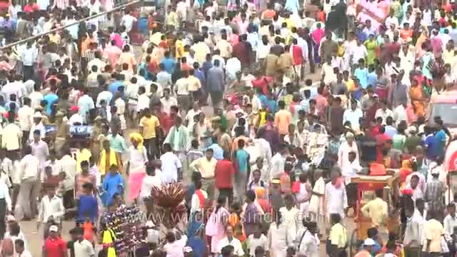 Scores of devotees attend 'Chariot Festival' of Puri