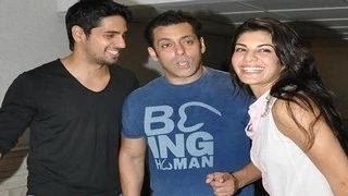Salman Khan, Jacqueline Fernandez ATTEND Siddhrth Malhotra's BASH