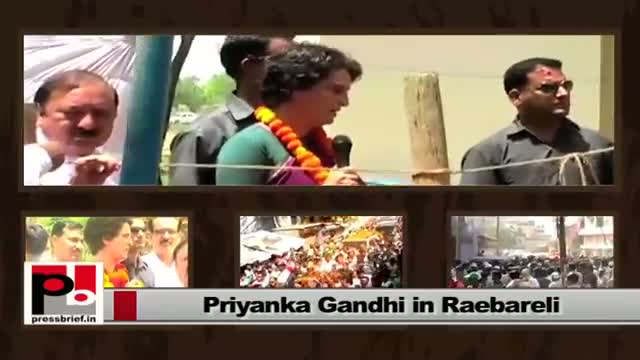Energetic leader Priyanka Gandhi - charismatic like Indira Gandhi