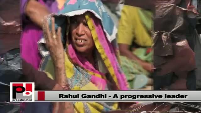 Rahul Gandhi - a genuine leader with innovative and progressive ideas