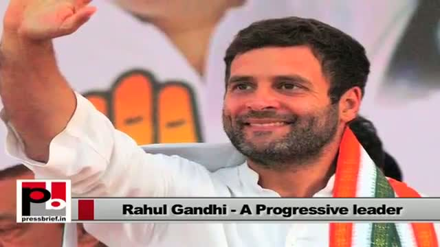 Rahul Gandhi's mission - Welfare and rights of the poor and downtrodden