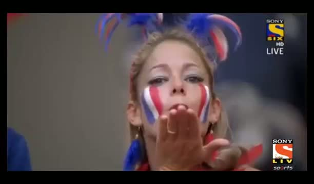 Fan Moment Eye Candy - France vs Nigeria 2014 - FIFA World Cup 2014