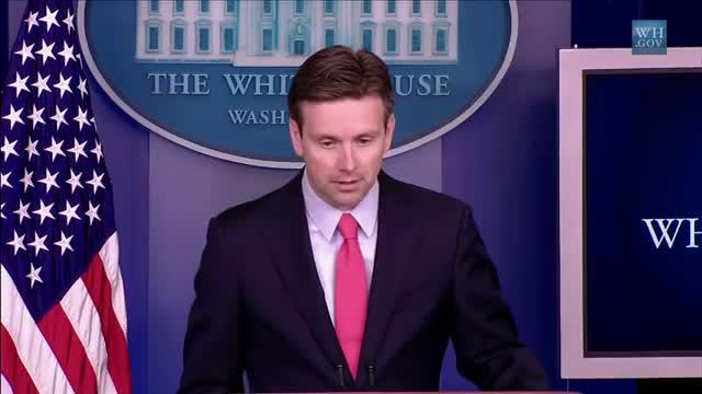 White House Press Secretary Josh Earnest on the Hobby Lobby Decision